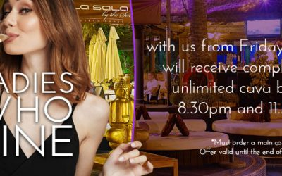 Ladies Who Dine at La Sala by the Sea are in for a treat