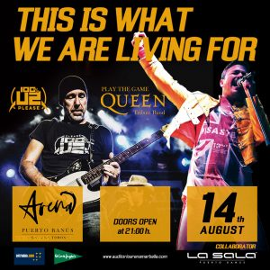 PLay the Game, Queen Tribute in Marbella