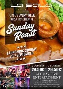 Sunday Roast Lunch in Marbella
