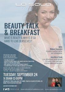 Beauty talk and breakfast in Marbella