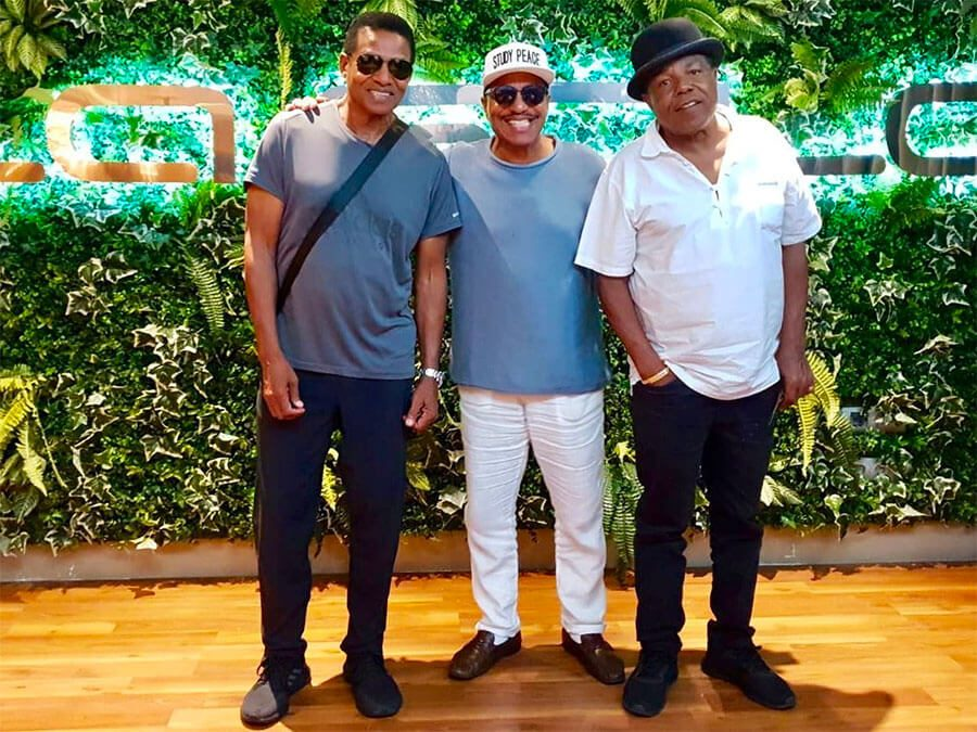 The Jacksons declare their love for…