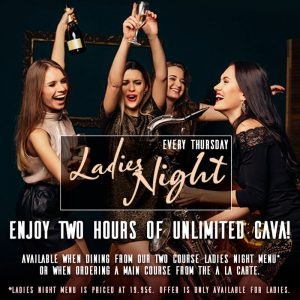 Ladies Night in Marbella at La Sala Puerto Banus