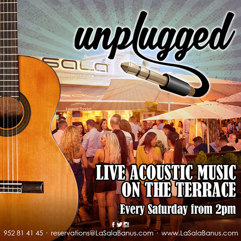 Live music in Marbella every Saturday at La Sala