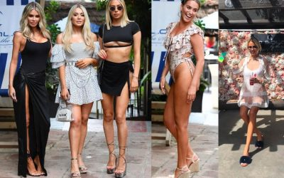 TOWIE stars soak up the sun in Marbella