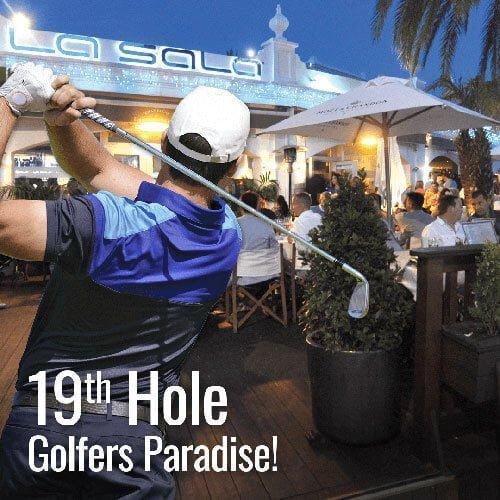 La Sala Puerto Banus - Your 19th hole in Marbella