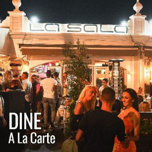 Dining in Marbella at La Sala, the golfers choice!
