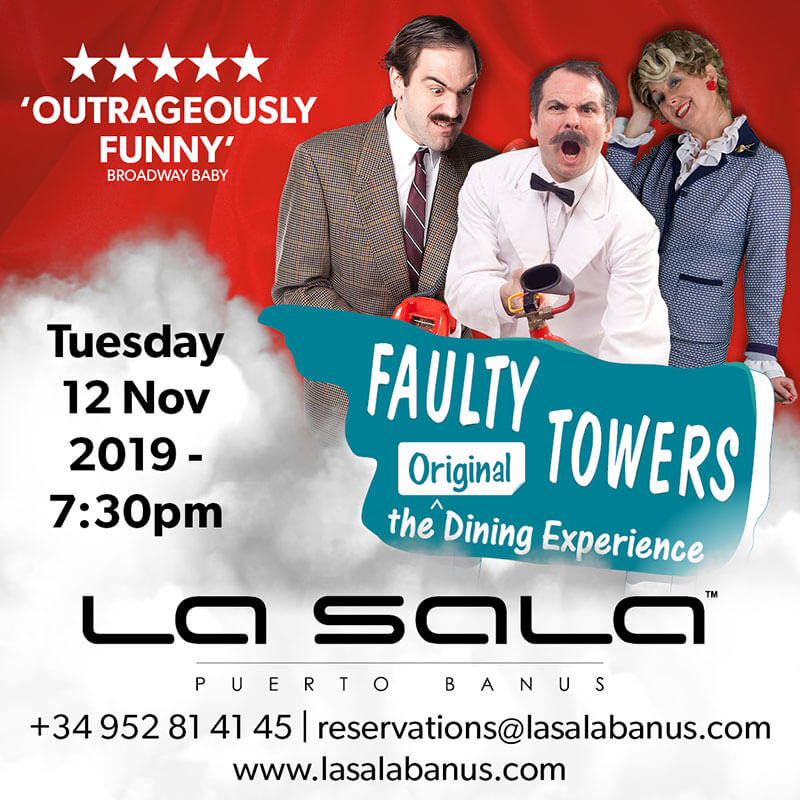 Faulty Towers Experience Marbella at La Sala