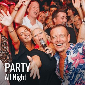 Golfers drink, dance and party at La Sala Marbella