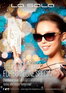 La Sala gift vouchers just in time for Christmas