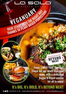 Go vegan this Veganuary at La Sal in Marbella