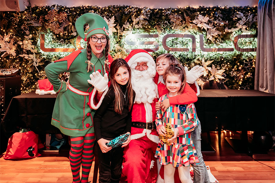Santa Sundays at La Sala in Puerto Banús