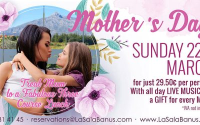 Mum's the Word this Mother's Day at La Sala