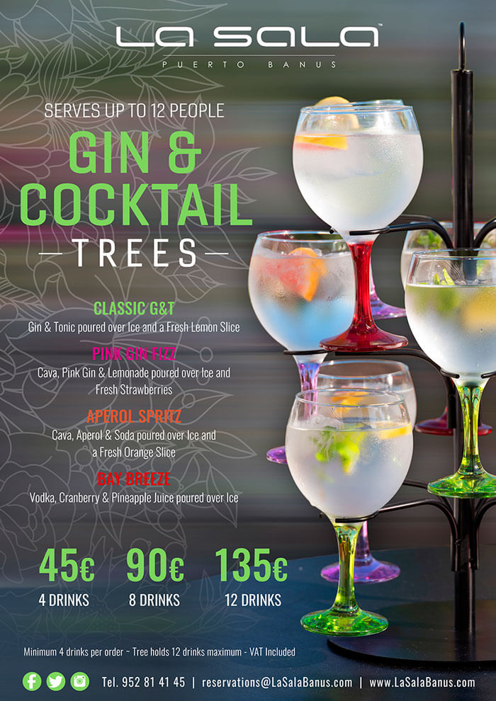 The famous La Sala Gin Tree