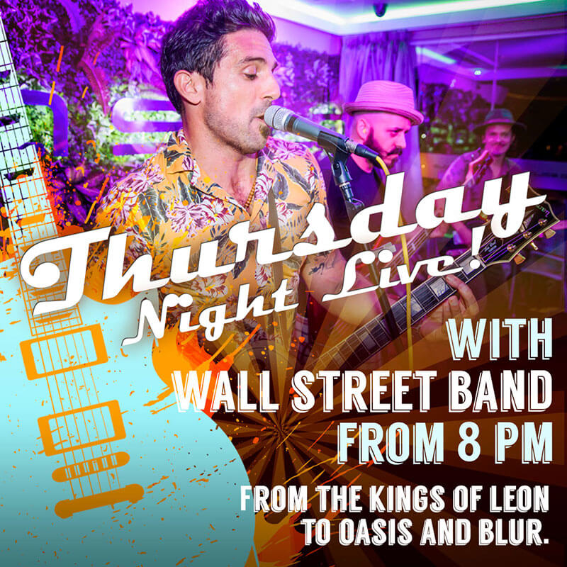 Thursday Night Live Music in Marbella