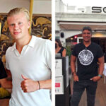 Top Footballers enjoy dinner at La Sala Marbella