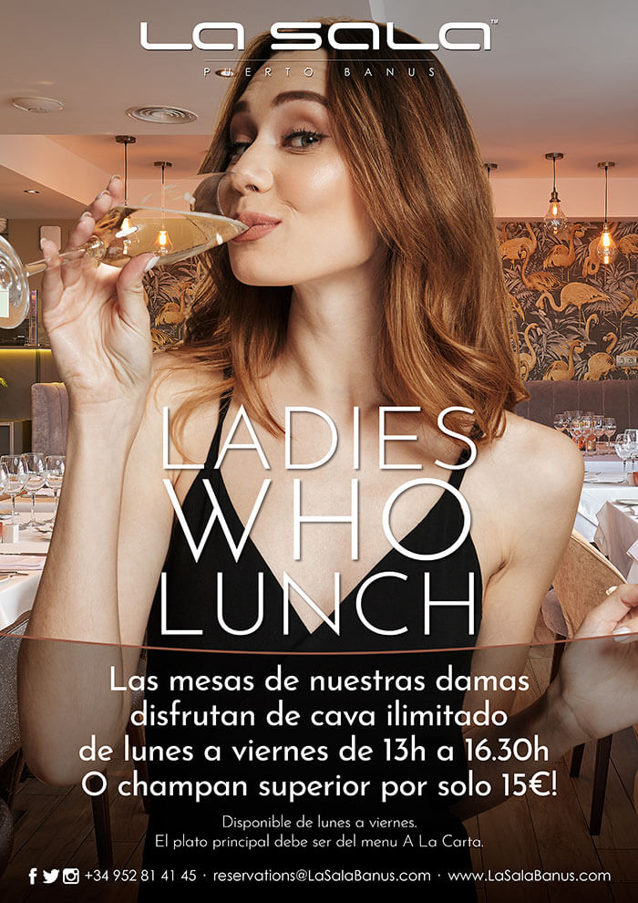 Ladies Who Lunch at La Sala Puerto Banus