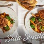 La Sala renowned 2 Course Sunday Roast Menu