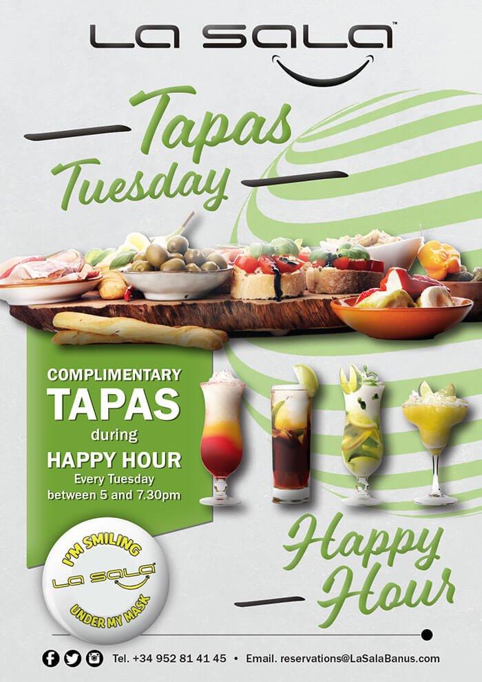 Tapas Tuesdays in Marbella at La Sala
