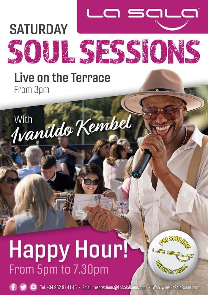 Saturday Soul Sessions with Ivanildo Kembel at La Sala