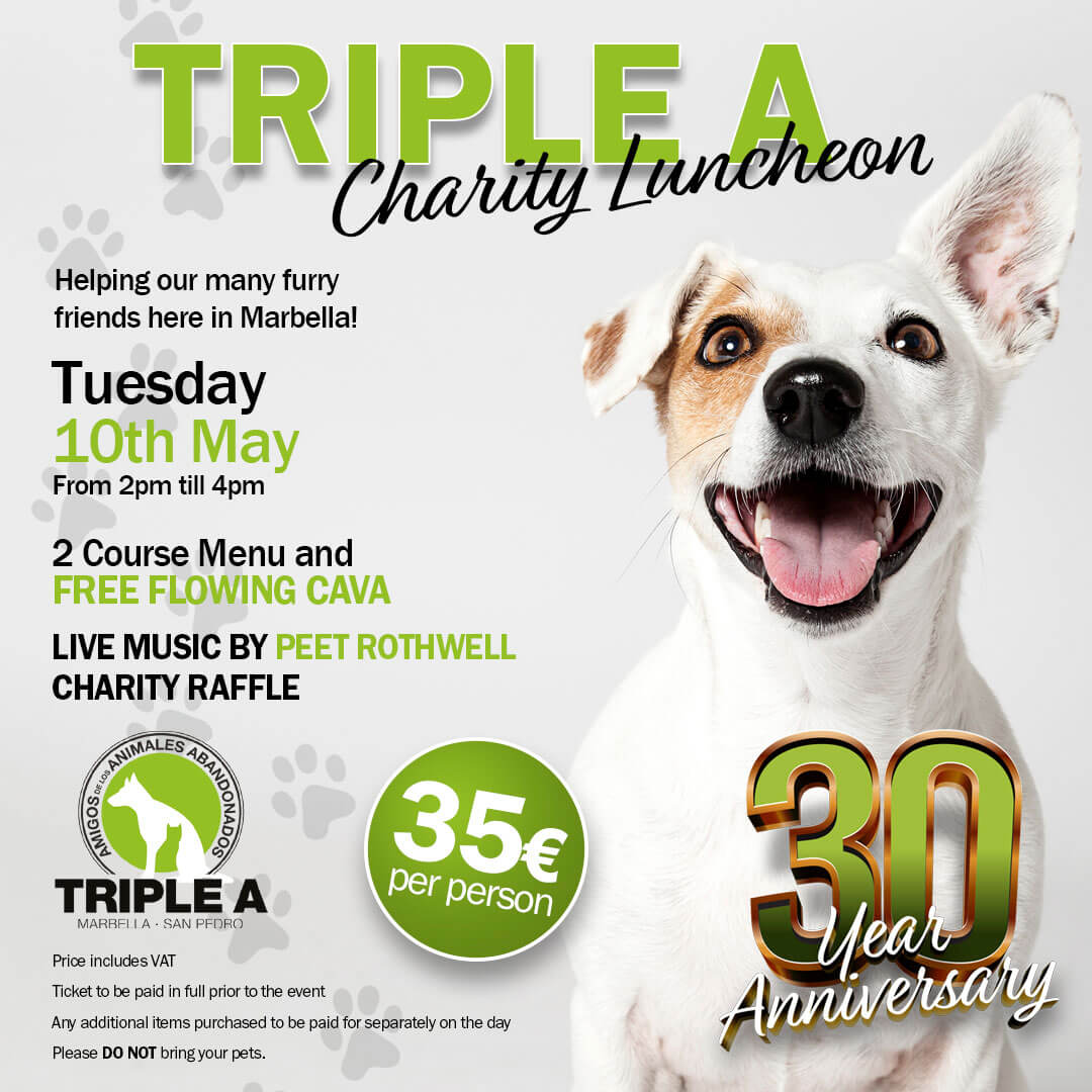 Charity Luncheon in aid of local Animal Shelter