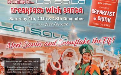 Santa Claus is coming to La Sala for Breakfast!