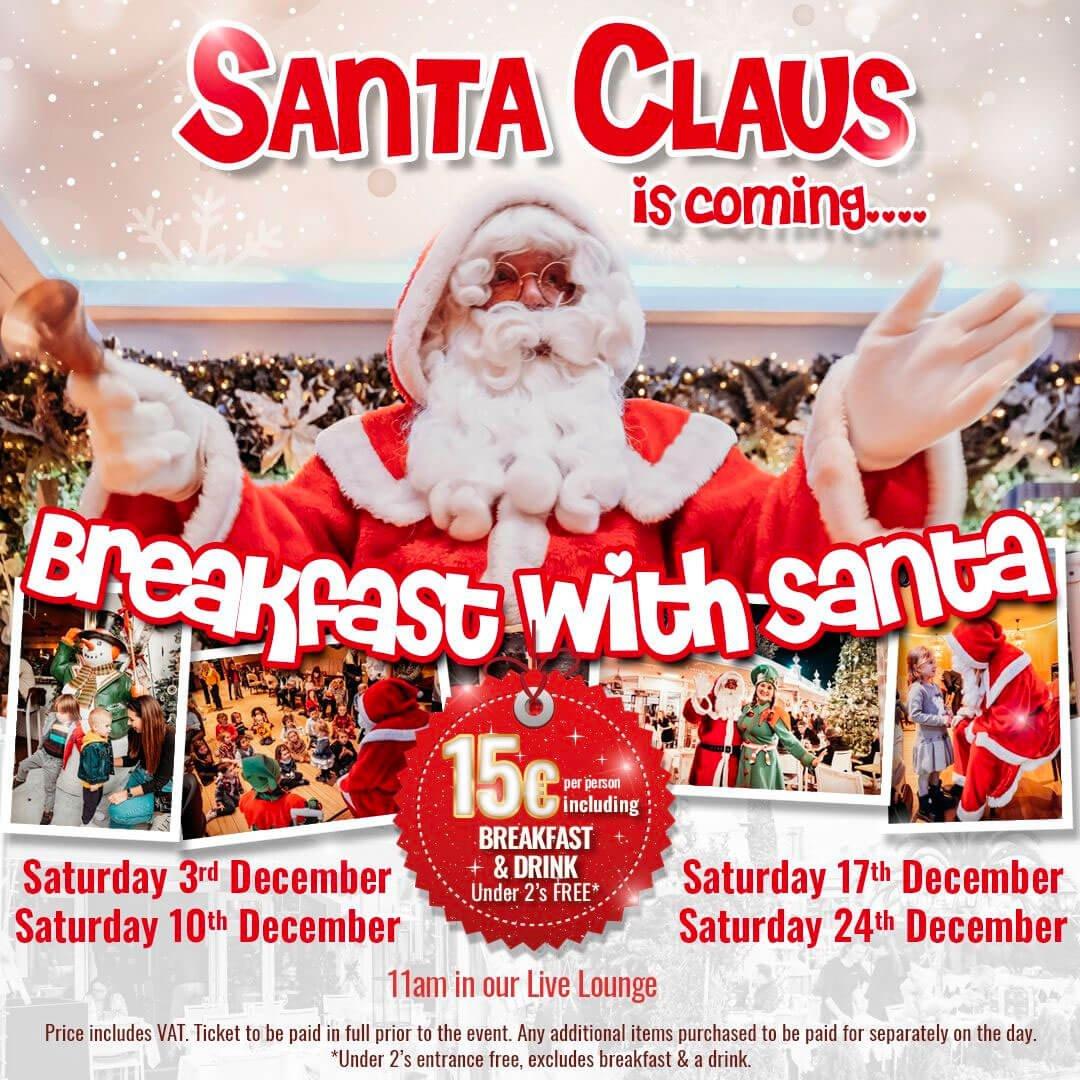 Santa in Marbella? At La Sala of course!