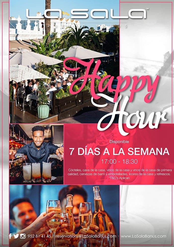 Happy Hour en Marbella, La Sala Puerto Banus