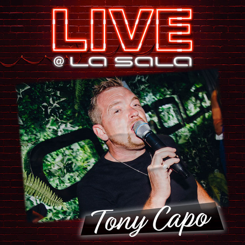 Tony Capo, Live Music in Marbella