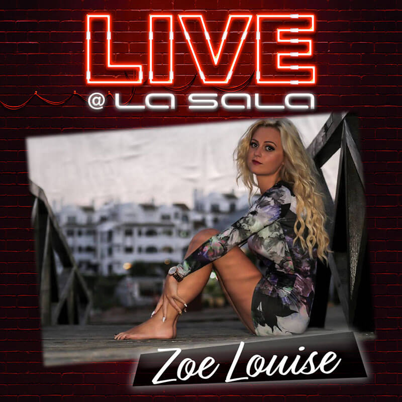 Zoe Louise live at La Sala in Marbella