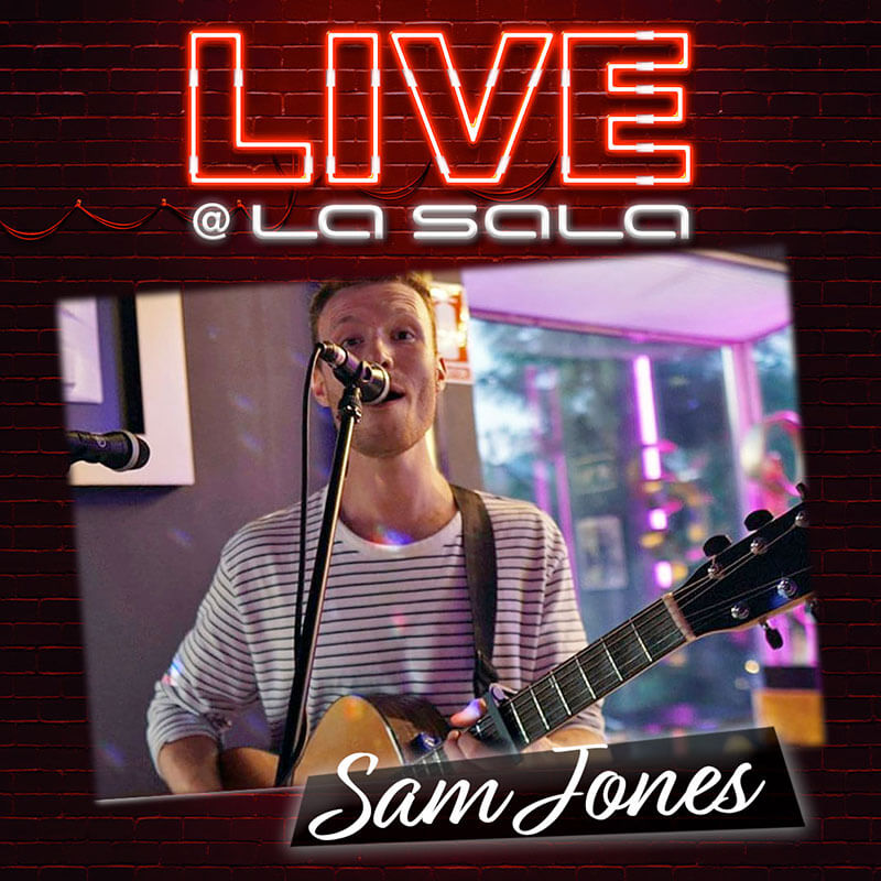 Sam Jones, Live Music in Marbella