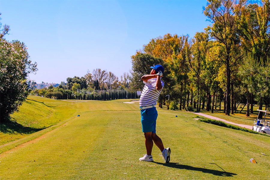 A sunny May Sala Golf day at Atalaya and La Sala by the Sea!