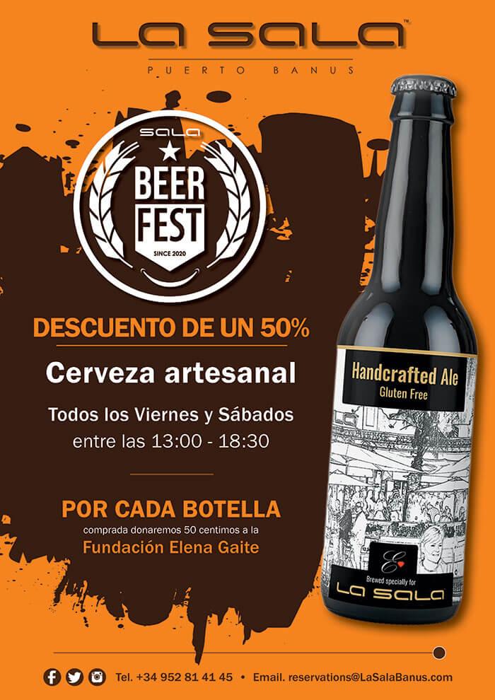 Fiesta de la cerveza todos los viernes y sábados en Marbella