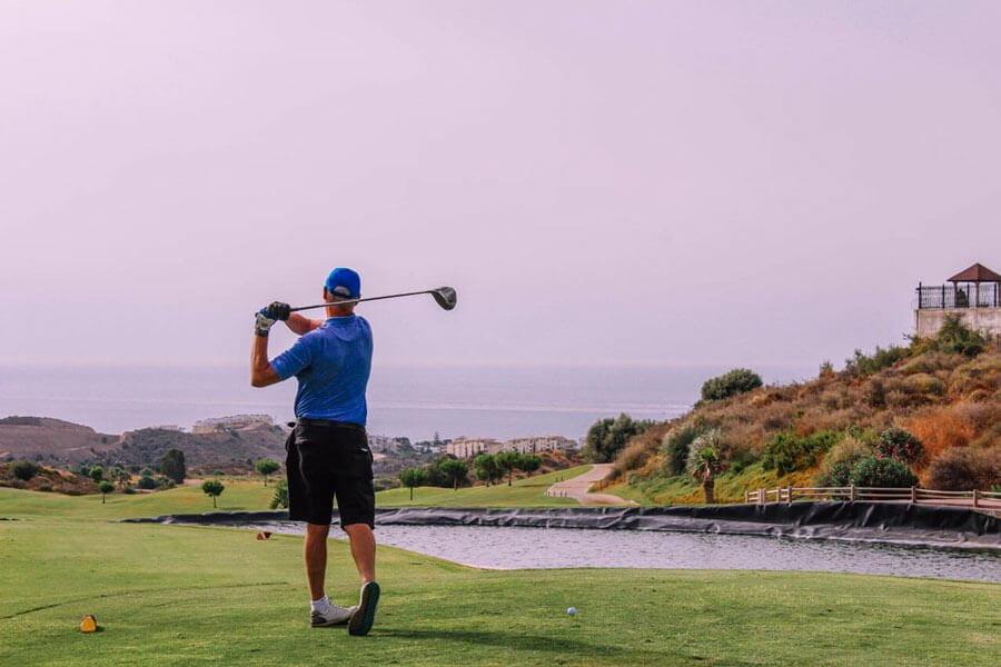 A scorching Sala Golf day at Calanova